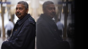 Cleaner Gamal Babiker, 61 says the extra $16 a week will do nothing to ease financial pressure.