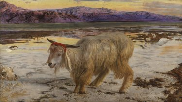 <i>The Scapegoat</i>, a painting by William Holman Hunt.