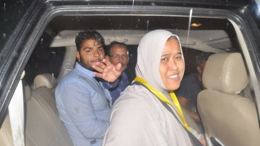Zulfiqar Ali's wife Siti jubilant after her husband's life was spared.