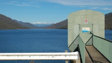 Snowy Hydro's Talbingo reservoir .