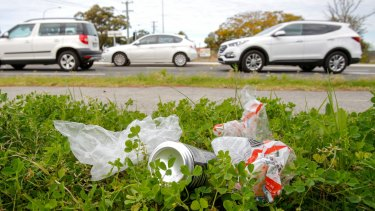 Roadside rubbish is an issue.