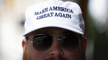 Donald Trump's slogan has caught on.