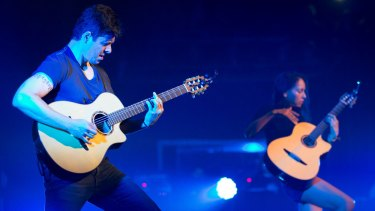 Rodrigo and Gabriela: Rabidly infectious riffs at Sydney's Concert Hall.
