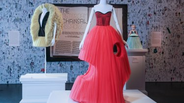 Viktor & Rolf used a chainsaw to finish this gown from their Cutting Edge collection.