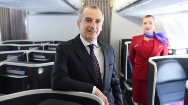 Virgin boss John Borghetti has been rewarded for getting cash-flow under control and executing on the airline's turnaround plan.