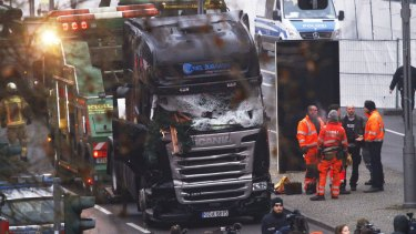 A lorry truck ploughed through a Christmas market in Berlin.