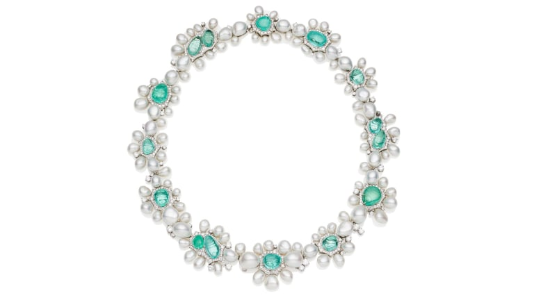 Paspaley Rockpool Paraiba Collier necklace.