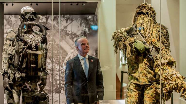 Australian War Memorial director Dr Brendan Nelson wants to increase exhibition space to more comprehensively cover recent military engagements.