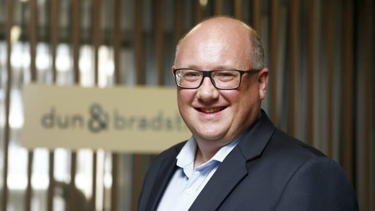 Dun & Bradstreet chief executive Simon Bligh in 2016.