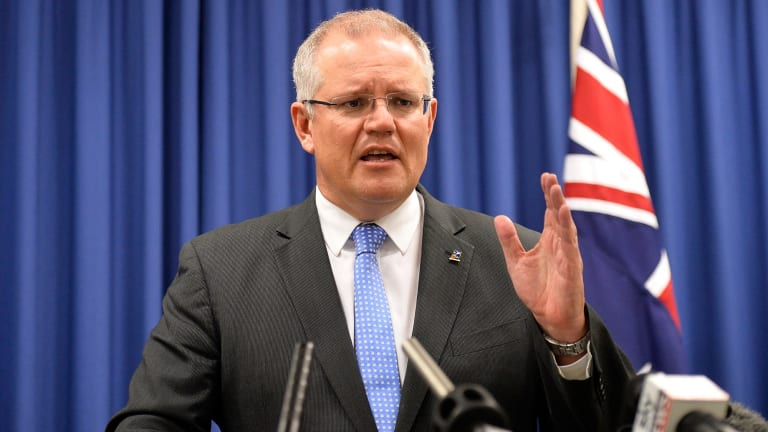 """Scott Morrison cited """"national security"""" as the reason to block the Ausgrid deal."""