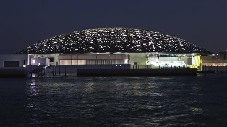 The Louvre Abu Dhabi opened recently with more than 600 artworks for its permanent collection.