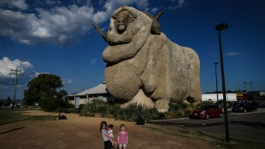 Commuter lifestyle? The Big Merino in Goulburn.