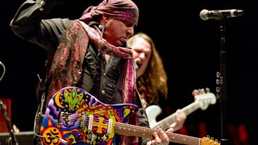 It's only rock 'n' roll ... Steven Van Zandt and the Disciples of Soul.