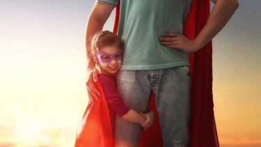 The most important thing a dad can give a girl is the feeling she is special.