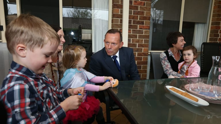 Prime Minister Tony Abbott's switch from a gold-plated paid parental leave program to a program offering less than what is available now failed the fairness test.