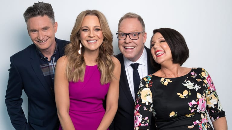 Dave Hughes, Carrie Bickmore, Peter Helliar and Julia Morris are integral to the network's plans.