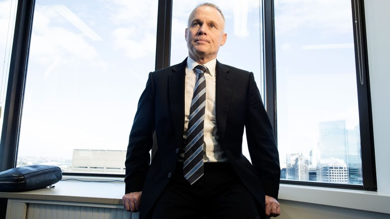 """""""I'm expecting a round coming up where premiums will probably go up somewhere between 5 to 6 per cent rather than the 7 to 9 per cent that we have seen in previous years,"""" nib boss Mark Fitzgibbon said."""