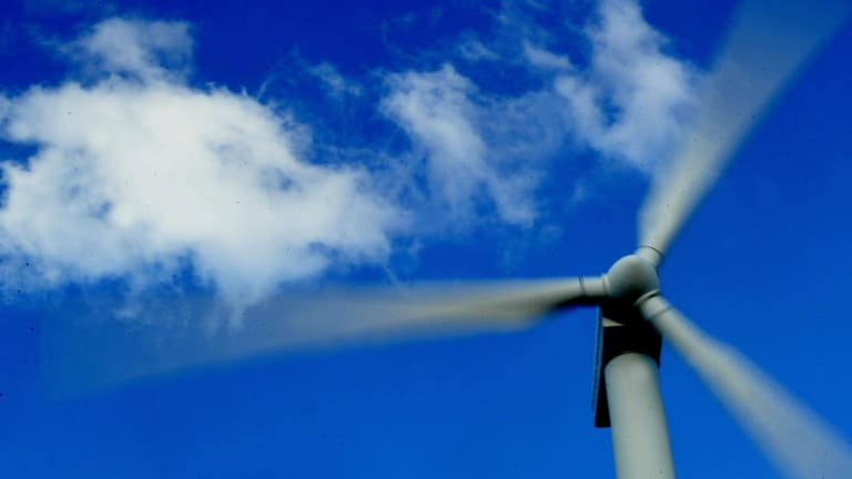 Tony Abbott's decision making approach equated to coal-fired power stations good, wind turbines bad.