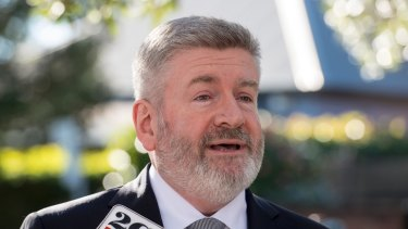 Communications Minister Mitch Fifield has been locked in talks with the Nick Xenophon Team on Tuesday.