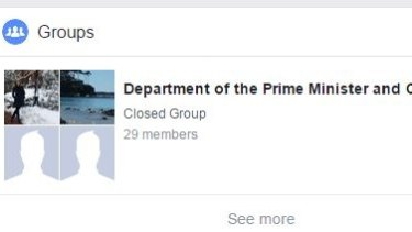 The Department of the Prime Minister and Cabinet is getting tough over Facebook use.
