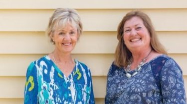 Queensland cousins Deb Drummond (at left), 62, and Janice Teunis, 64.