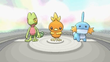 The monster selection in <i>Ruby</i> and <i>Sapphire</i> is cute as ever, although Torchic fans may be disappointed to find how handicapped fire Pokemon are in this game.