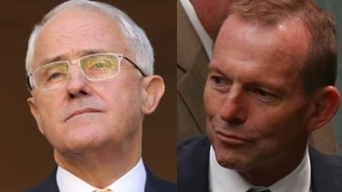 Family feud Malcolm Turnbull and Tony Abbott.