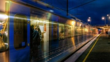 The late-night transport trial includes an extra 300 train services.