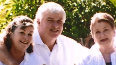 Royal North Shore Hospital stroke victim Alan Bugden shown in a picture from Nine News.