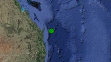 A 3.7 magnitude earthquake has struck off Fraser Island.