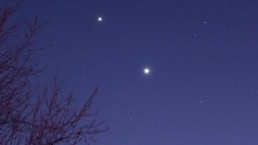 "The Facebook page ""Jupiter and Venus together"" has been created for the rare event."