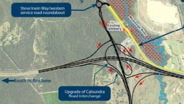 New ramps are planned and a four-lane bridge is planeed for where Caloundra Road and the Bruce Highway meet.