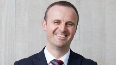Andrew Barr will be looking to retain the top job after two years as chief come the 2016 election.