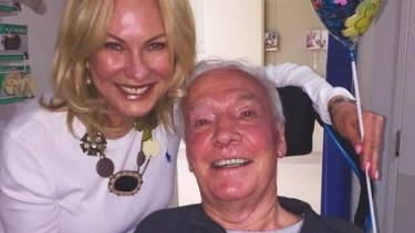Kerri-Anne Kennerley is looking forward to husband John being able to come home.