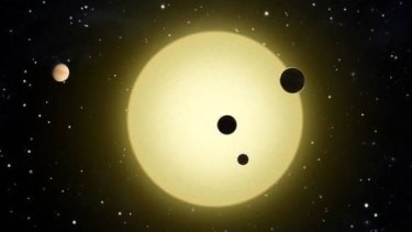 The newly discovered system is in the constellation of Aquarius and is 600-light years away.