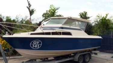 The boat five men allegedly planned to take to Indonesia on their way to fighting with Islamic State.