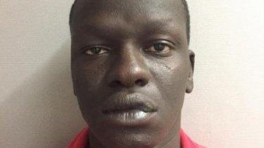 Magot Machol was captured in North Melbourne on Thursday.