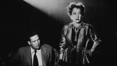 A scene from the 1950 film <i>Sunset Boulevard</I>.