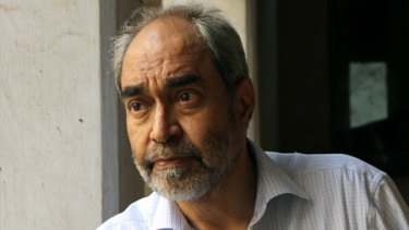 'Writing on the wall': Jehangir Patel, editor of <i>Parsiana</i> magazine.