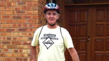 Berwick cyclist Ron Spargo.