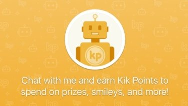 Messaging app Kik has launched a 'Bot Store'.