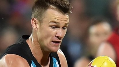 AFL: Port Adelaide Power star Robbie Gray in electric form ahead of Canberra showdown