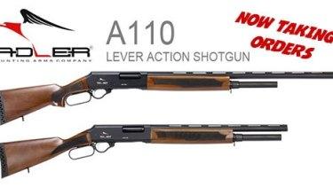 The Adler 110 shotgun.