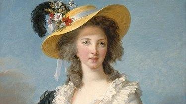 Madame Pompadour, a fetching likeness of the Duchesse de Polignac by Elisabeth Vigée Le Brun from the Versailles Palace.