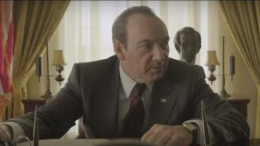 Kevin Spacey transforms into Richard Nixon in new trailer