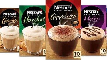 Customers are steaming over Nescafe's Café Menu Range