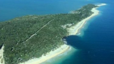 """The sinkhole has been described as a """"near shore landslide""""."""