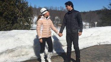 Sophie Gregoire Trudeau has been roasted on social media for celebrating men like her husband on International Women's Day.