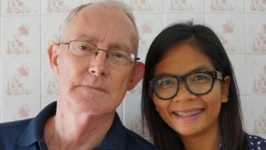 Australian journalist Alan Morison and his colleague Chutima Sidasathian.
