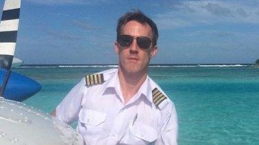 Gareth Morgan, 44, was piloting the Sydney Seaplanes aircraft that crashed.